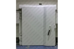 Big size rf shielded manual door finished product