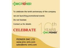 Celebrating the company's tenth anniversary